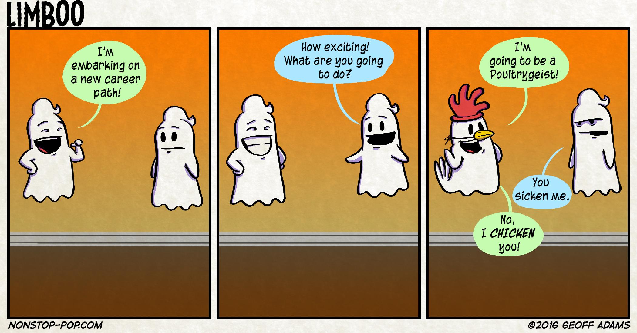 Chicken Boo.