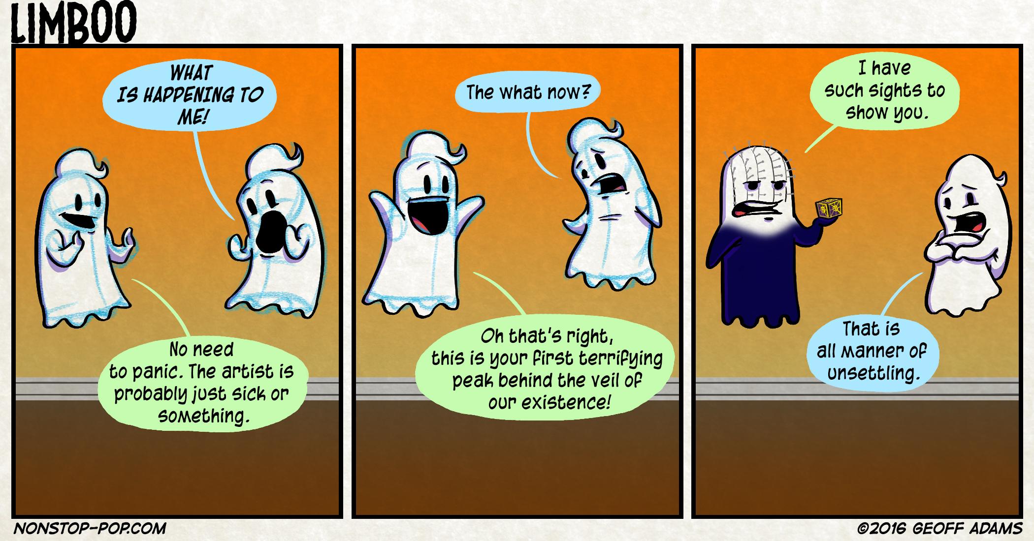 Beyond the veil.