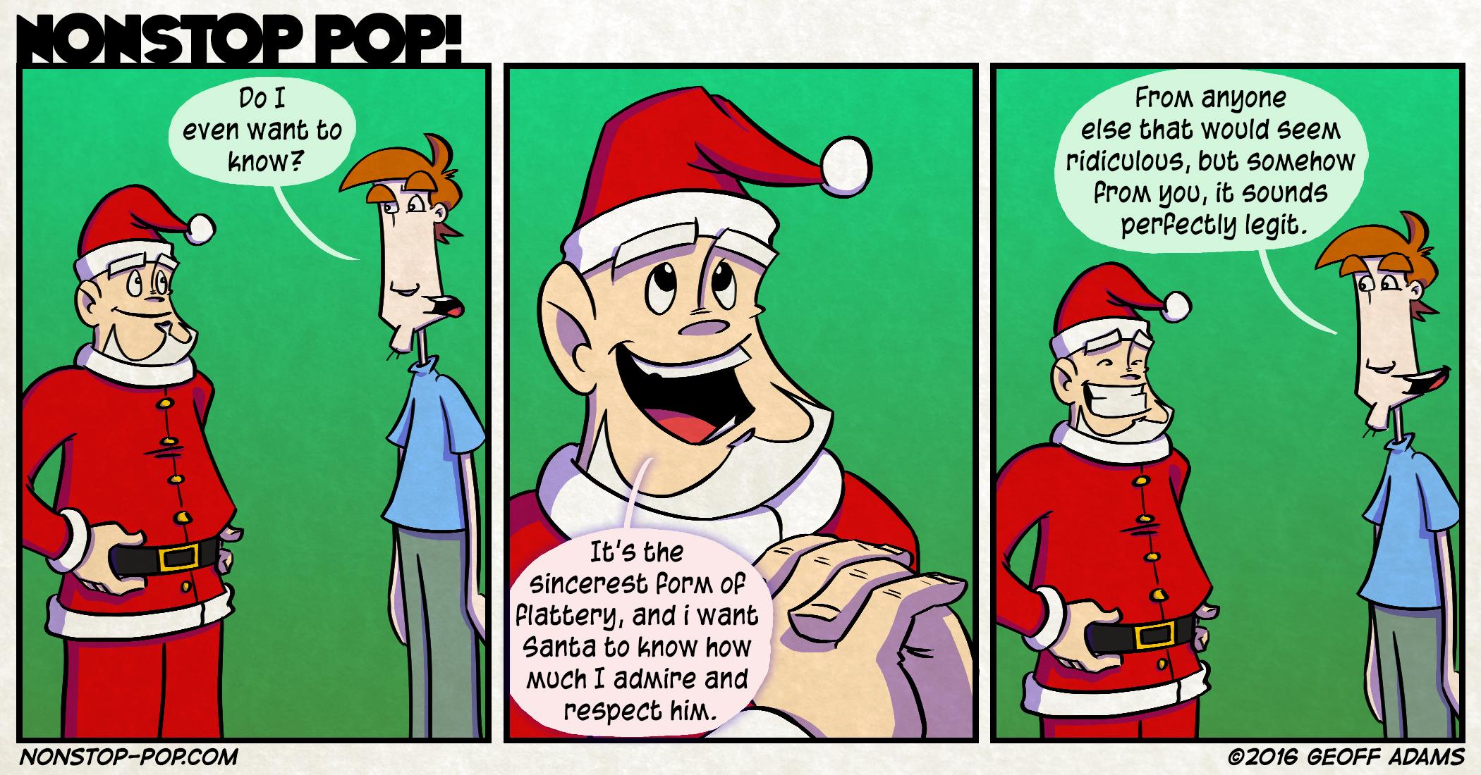 Santa Maybe?